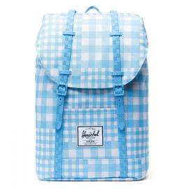 retreat gingham alaskan blue