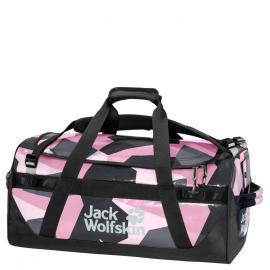 pink geo block