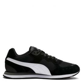 black puma/white-charcoal gray