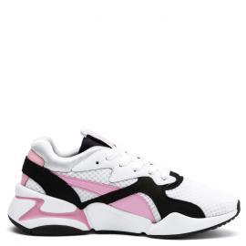 white/pale pink