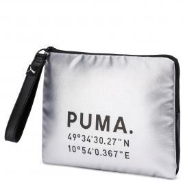 silver puma-black