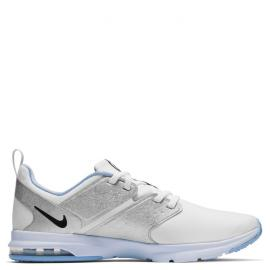 white/black-metallic silver-half blue