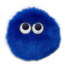 Blau-Flausch