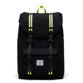 black enzyme ripstop/black/safety yellow