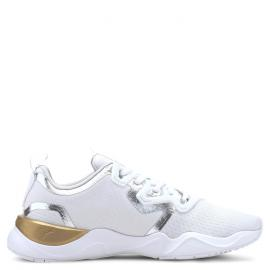 puma white-metallic gold