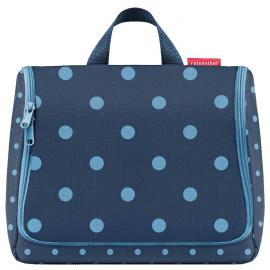 mixed dots blue