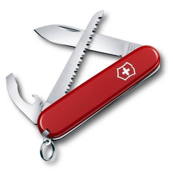 """Schweizer Taschenmesser """"Walker"""" 8.4 cm rot"""