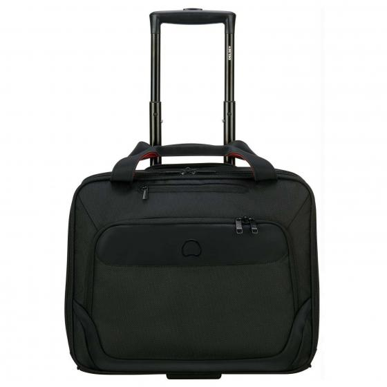 Parvis Plus 2-Rollen-Businesstrolley 42 cm schwarz