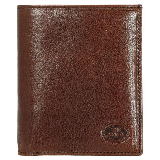Story Uomo Kreditkartenetui / Geldbörse Rindleder 12.2 cm marrone