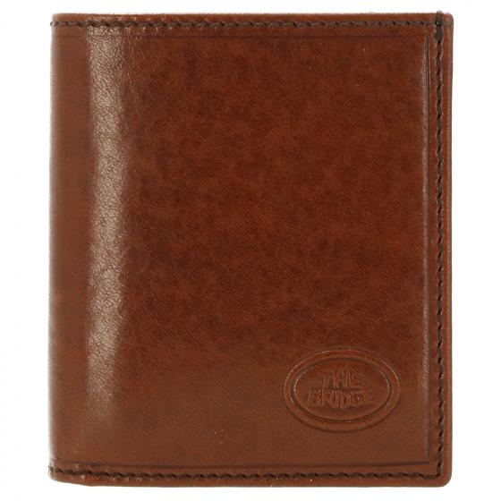 Story Uomo Kreditkartenbörse Leder 10 cm brown