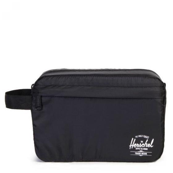 Travel Accessoires Toiletry Bag Kulturbeutel 24 cm black