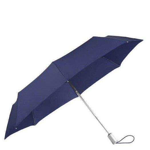 Alu Drop S Safe 3 Sect. Auto O/C Taschenschirm indigo blue