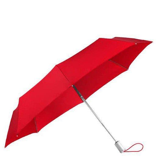 Alu Drop S Safe 3 Sect. Auto O/C Regenschirm tomato