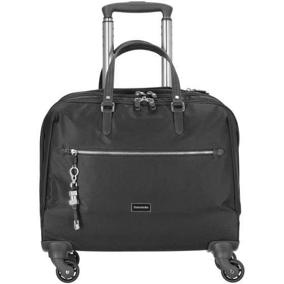 Karissa Biz Spinner Tote Businesstrolley 43.5 cm black