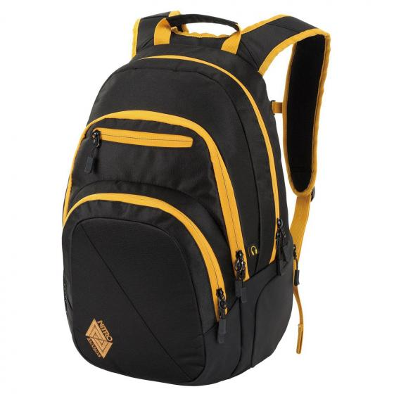 "Stash Laptoprucksack 49 cm 15"" golden black"