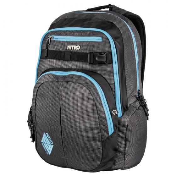 "Chase Laptop-Rucksack 51 cm 17"" blur blue-trims"