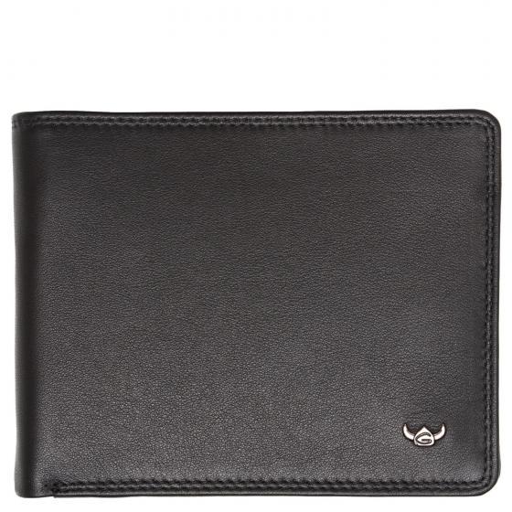 Polo RFID Scheintasche 12,5 cm schwarz