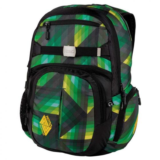 "Hero Laptop-Rucksack 52 cm 15"" geo green"