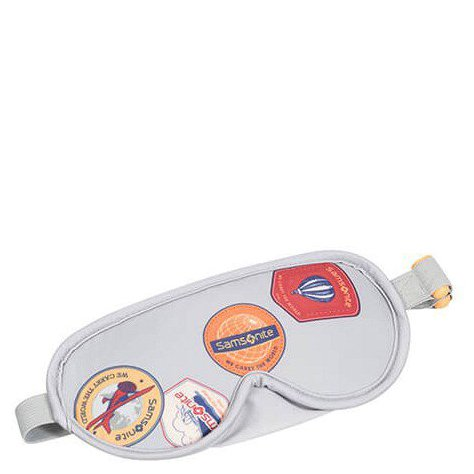 Comfort Travelling Eye Mask and Earplugs heritage patches