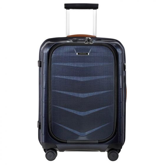 Lite-Biz 4-Rollen-Kabinentrolley 55 cm USB midnight blue