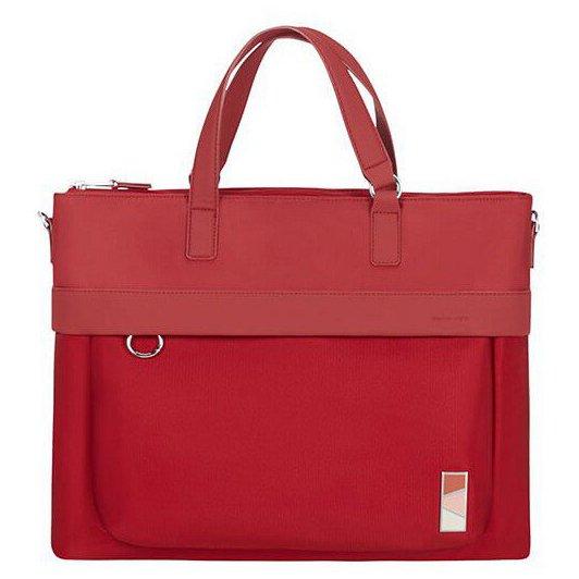 """Pow-Her Aktentasche mit Laptopfach 15.6"""" 42 cm toamto red"""
