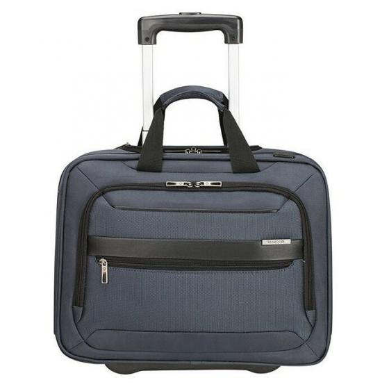 "Vectura Evo 2-Rollen-Businesstrolley 15.6"" 42 cm blue"