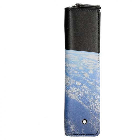 Meisterstück Selection Star Walker Etui für ein Schreibgerät mit umlaufendem RV 16.5 cm cosmos black