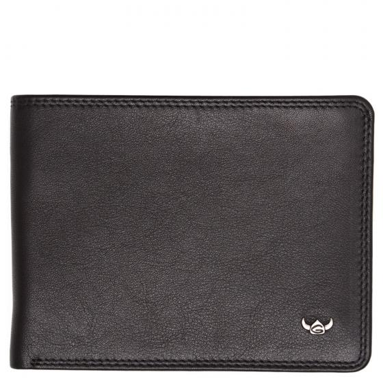 Polo RFID Scheintasche 12 cm schwarz