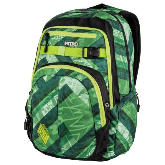 """Chase Laptop-Rucksack 51 cm 17"""" wicked green"""