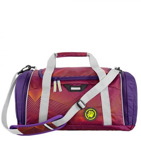 SporterPorter Sporttasche Soniclights Purple