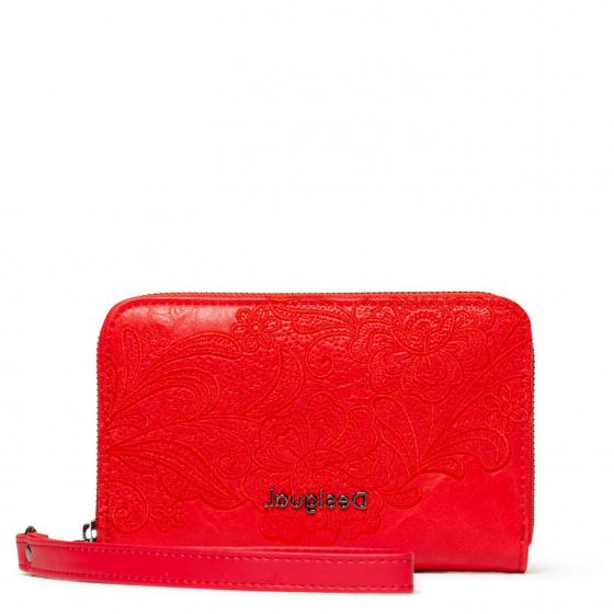 Desigual Mone Melody Mini Zip Geldbörse 15 cm red