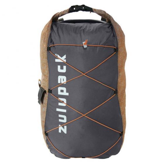 Packable Rucksack 17 waterproof 39 cm grey camel