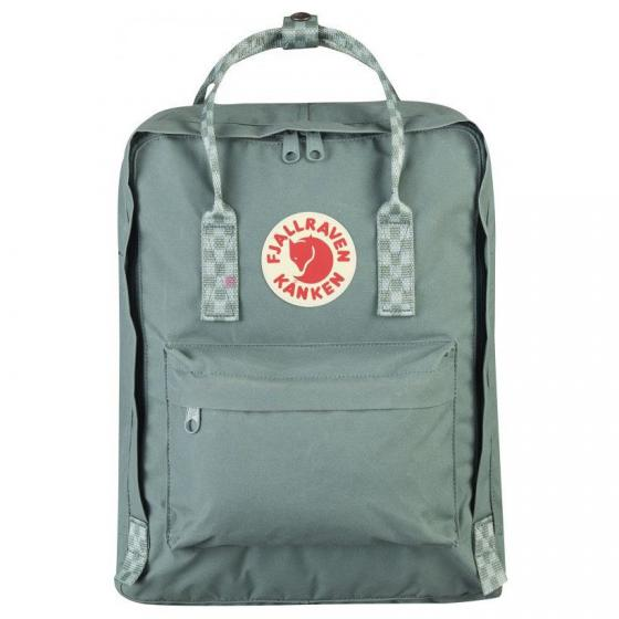 Kanken Rucksack 38 cm frost green-chess pattern