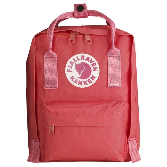 Kanken Mini Rucksack 29 cm peach pink
