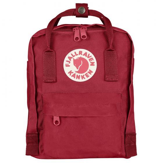 Fjällraven Kanken Mini Rucksack 29 cm deep red