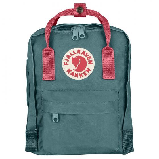 Kanken Mini Rucksack 29 cm frost green-peach pink