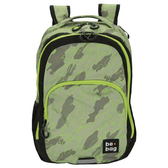 be.bag. be.ready Schulrucksack 46 cm Abstract Camouflage