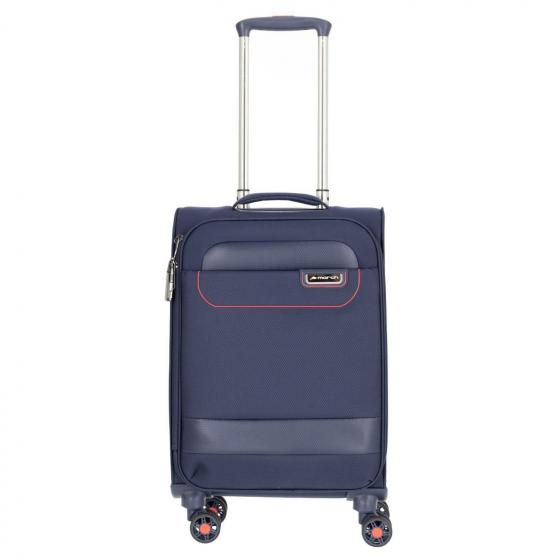 tourer 4-Rollen-Kabinentrolley 55 cm navy/red
