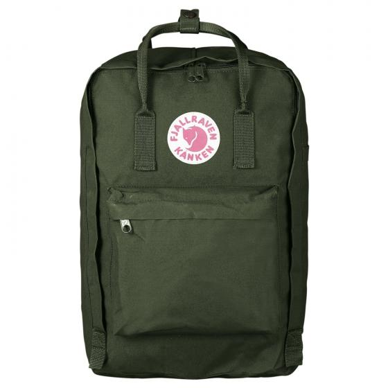 "Kanken Rucksack Laptop 17"" 42 cm forest green"