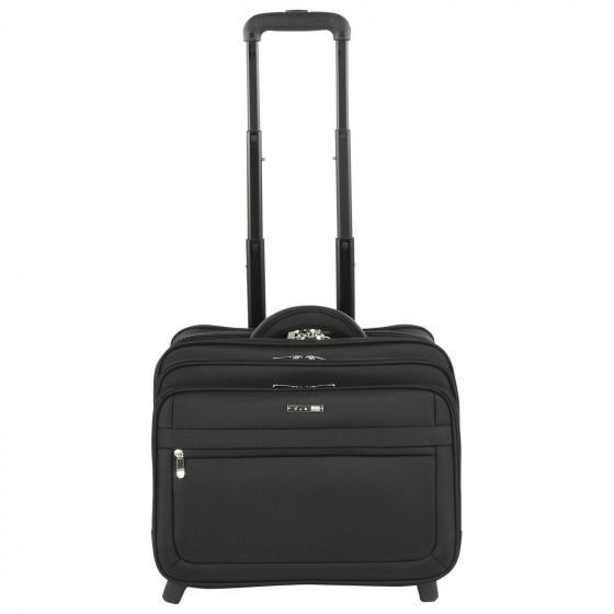 Business & Travel 2-Rollen Businesstrolley 42 cm schwarz
