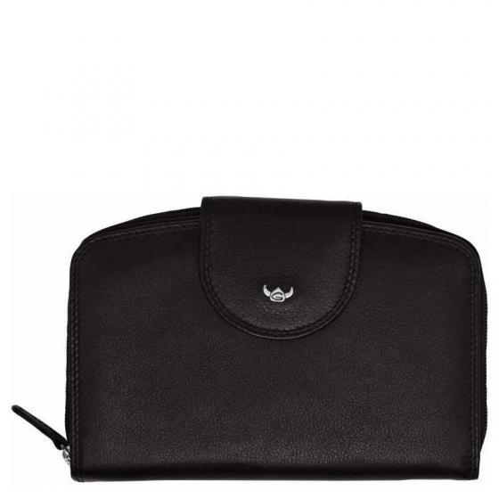 Polo W Börse 14,5 cm schwarz