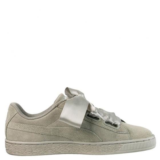 W Suede Heart Pebble Sneaker Schuh 365210 40 1/2   grey grey