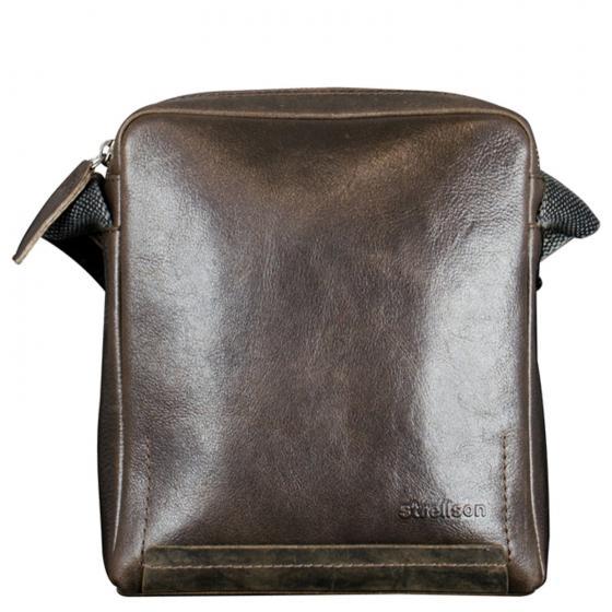 Premium Camden Schultertasche Leder brown