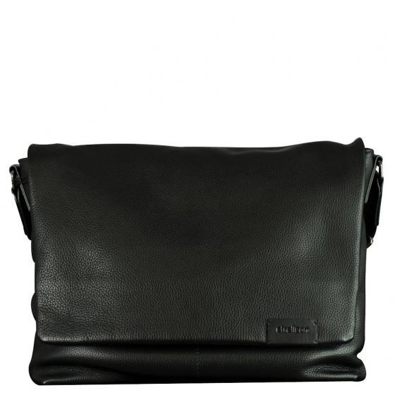 Garret Schultertasche 35 cm black