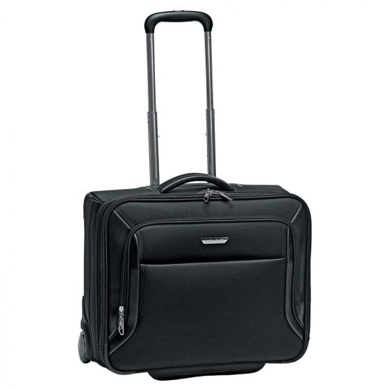 "Biz 2.0 2-Rollen Businesstrolley mit 2 Fächer 49 cm 15,6""-17"" nero"