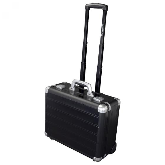 "2-Rollen-Businesstrolley Galaxy 46 cm 15.6"" black matt"