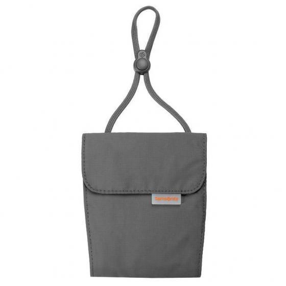 Packing kompakter Brustbeutel graphite