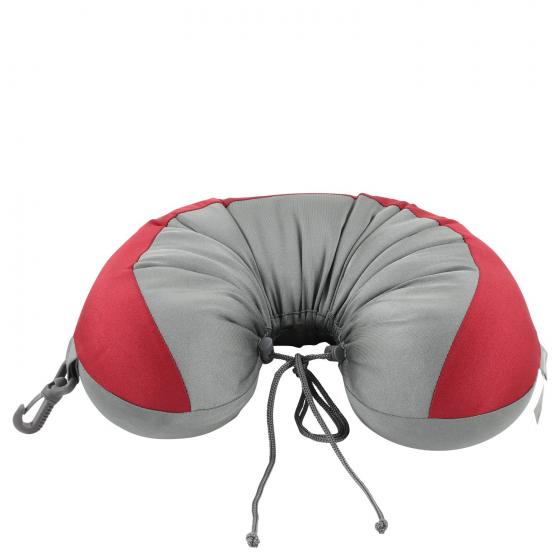 Comfort Travelling Convertible Pillow Nackenkissen red/graphite