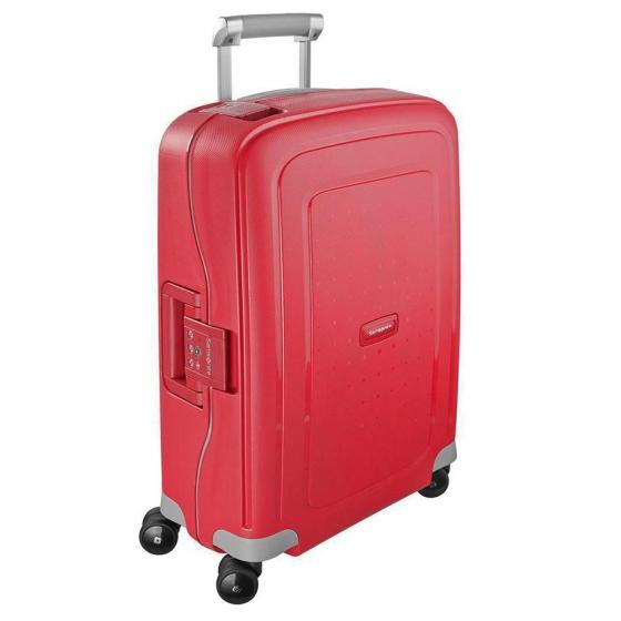 S Cure Spinner 4-Rollen-Kabinentrolley 55 cm crimson red