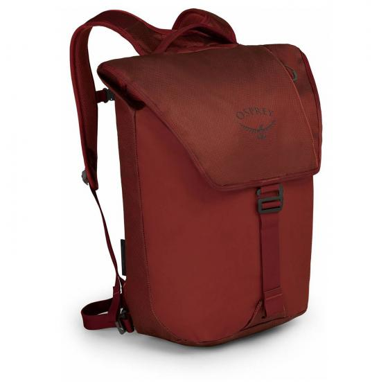 Transporter Flap Laptop-Rucksack 45 cm ruffian red